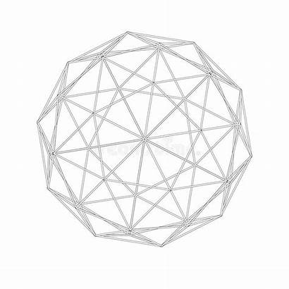 Sacred Geometry Grid Lines Forms Geodesic Shapes