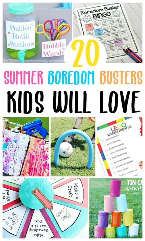 20 Summer Boredom Busters Kids Will Love Centsable Momma