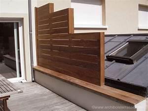 Terrasses En Vue : brise vue jardin pare vue brise vent terrasse claustra ~ Melissatoandfro.com Idées de Décoration