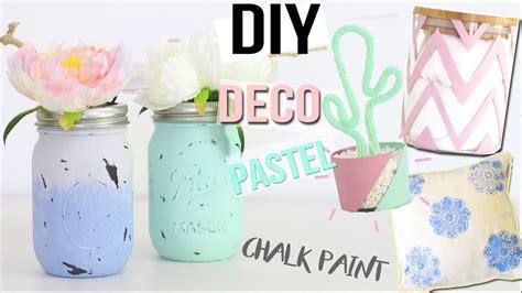 diy deco bureau diy deco 4 deco pastel chambre bureau chalk paint