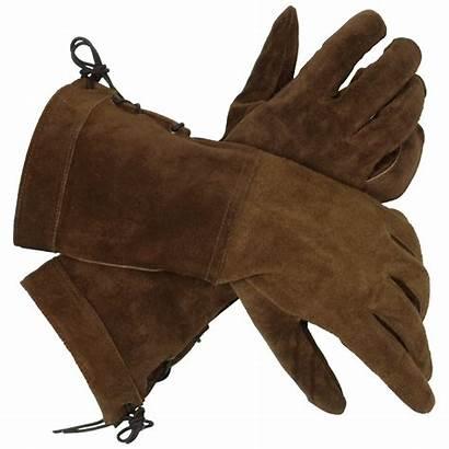 Gloves Swordsman Suede Leather Medieval Gauntlets Larp