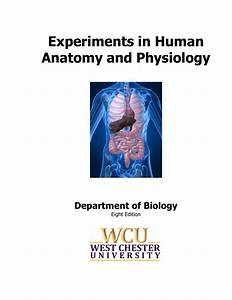 Experiments In Human Anatomy And Physiology