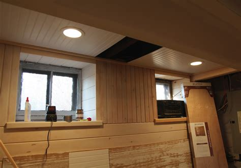 Beadboard Options Ceiling With Removable Sections