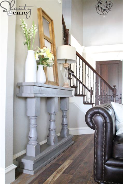 how to a console table diy console table from shanty 2 chic osborne wood