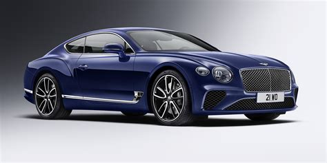 2018 Bentley Continental Gt Revealed Here In Q2 2018