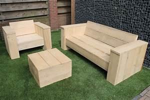 Loungemöbel Holz Outdoor : lounge m bel selber bauen anleitung yd92 hitoiro ~ Indierocktalk.com Haus und Dekorationen