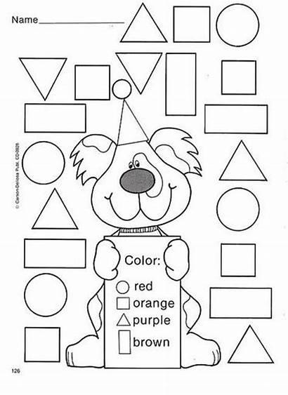 Shapes Shape Worksheets Activities Kindergarten Worksheet Preschool