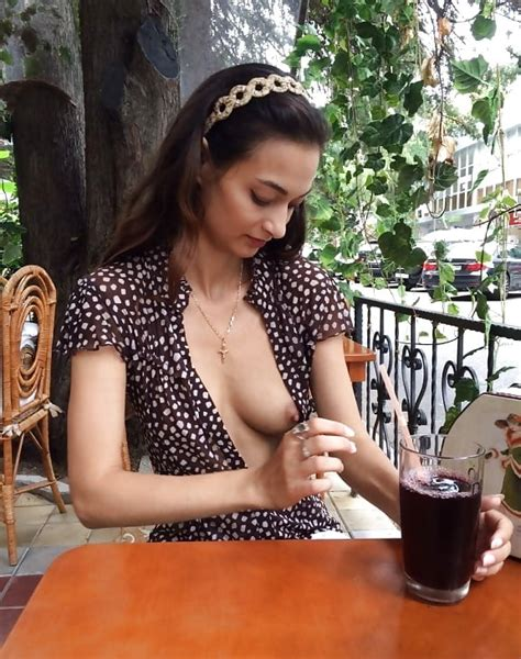 Russian Sexwife Naya Mamedova Neida Public Nude 2 11