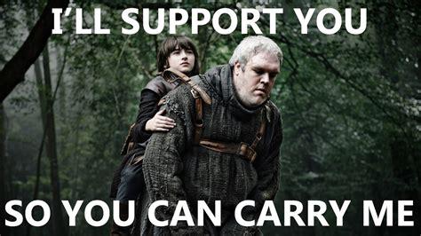 Supportive Memes - hodor best support seven kingdoms league of legends know your meme
