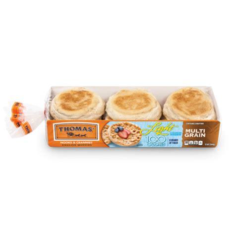 light multi grain english muffins thomas 39