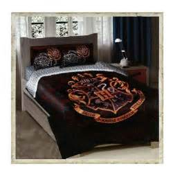 hogwarts crest twin full size comforter bedding set