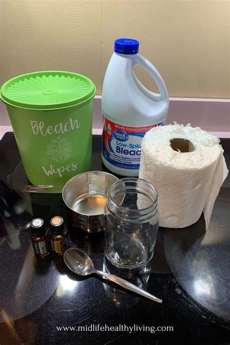 DIY Bleach Wipes to Make at Home