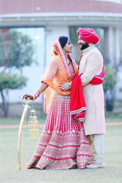 punjabi weddingsikh wedding punjabi wedding pinterest