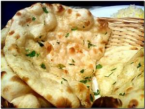 Food from all over the World: Ginger Garlic Bread or Naan
