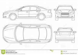 Car Top View Cartoons  Illustrations  U0026 Vector Stock Images
