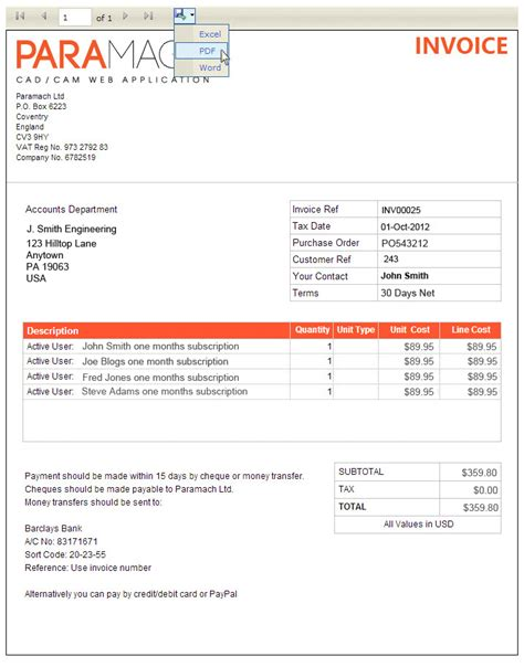 purchase order  invoice dascoopinfo