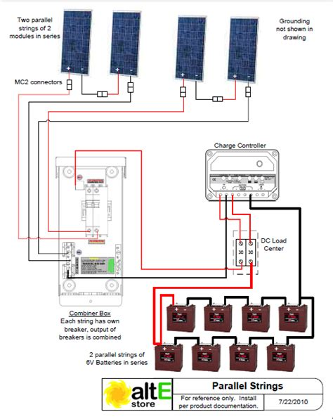 wiring diagram of solar panel system bookingritzcarlton info