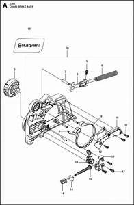 Husqvarna 236 E  967326502  Chainsaw Chain Brake Spare