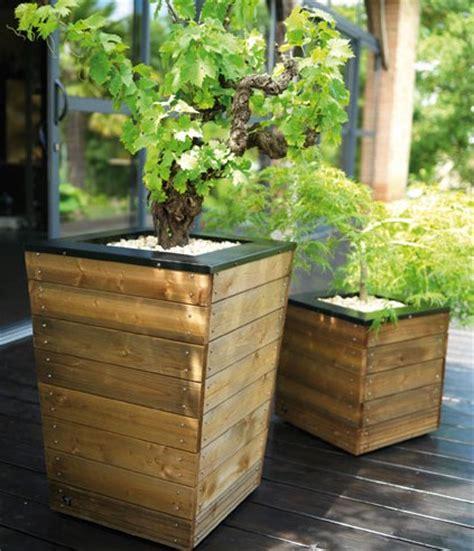 pot en plastique pour plantes exterieur grands pots pour plantes
