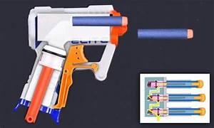 Video Reveals How You Can Nerf Guns To Fire All Of Its