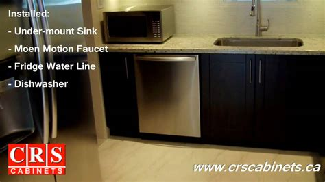 kitchen cabinets  crs cabinets chocolate pear door style  youtube