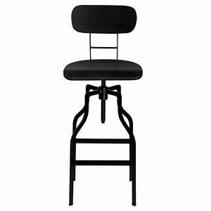 Chaise Bar Cuisine : chaise de bar vintage bois koya design ~ Teatrodelosmanantiales.com Idées de Décoration