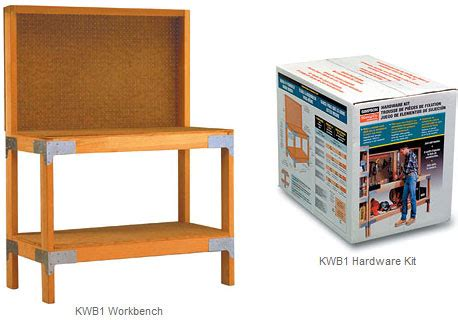 Work Bench Kits by Strong Tie Workbench Hardware Kit