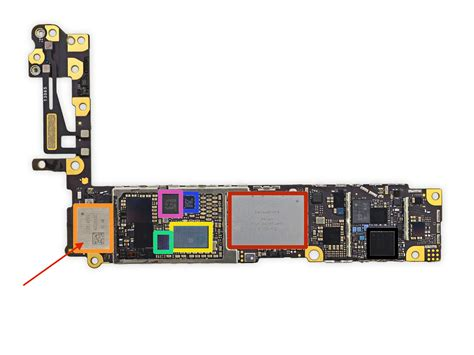 iphone 5s power ic replacement