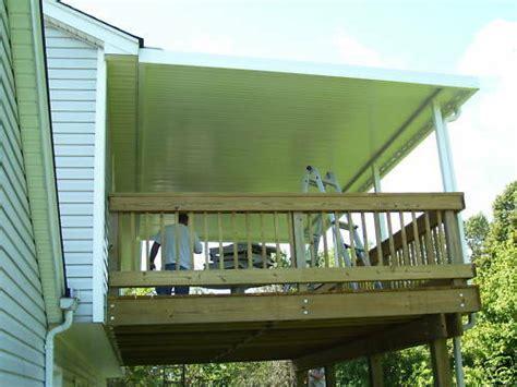 gauge aluminum awning awnings patio cover kit ebay