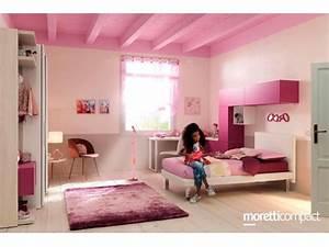Bureau Chambre Ado Fille : lit mezzanine avec bureau moderne et fun glicerio so nuit ~ Dallasstarsshop.com Idées de Décoration