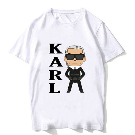 karl lagerfeld  shirt men summer  cat animal print