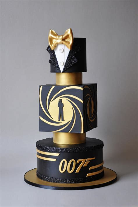 bond james bond cake  archicaketure cakesdecor