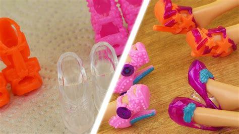 Diy Barbie Schuhe  Süße Bunte Schuhe Für Eure Barbies