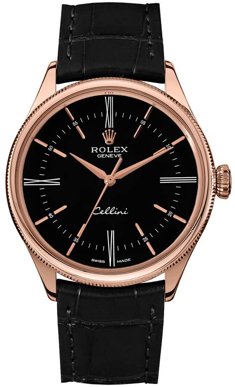50505 Rolex Cellini Time Everose Gold Watch