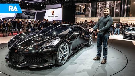 At the time, bugatti also unveiled the la voiture noire, which translates to 'the black car'. Cristiano Ronaldo Compra Bugatti Mais Cara Do Mundo