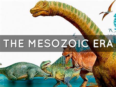 Mesozoic Era By Meking