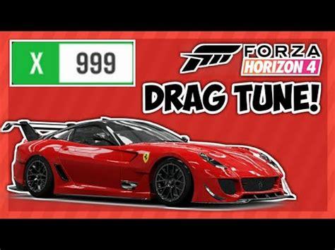 Guys, what do you think about this car? Forza horizon 4 | 7.5 second ferrari 599XX Evo drag tune! - YouTube