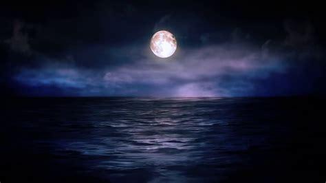 Midnight Background Background Hd Style Proshow Moon Midnight