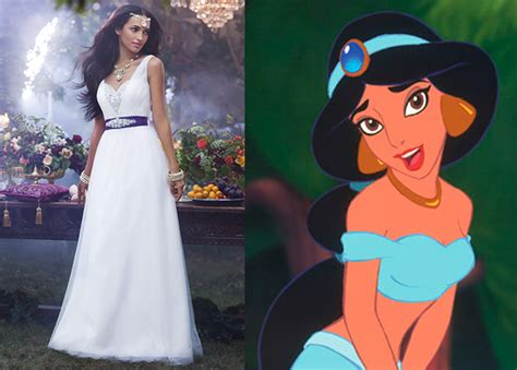 The Disney Princess Wedding Dress Collection Is A Thing
