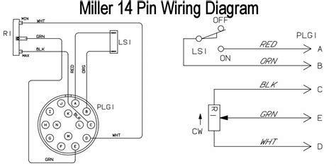 Miller 14 Pin Wiring Diagram by Tig Foot Pedal On Current