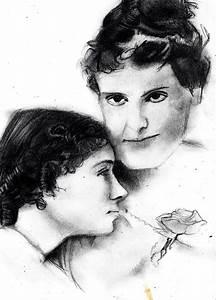 Helen Keller and Anne Sullivan by Tsalagi515 on DeviantArt