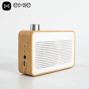 Enceinte Radio Bluetooth : enceinte emie vintage en bois bluetooth design au look radio ~ Melissatoandfro.com Idées de Décoration