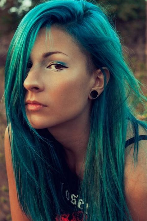 Directions Turquoise Makeup Nails And Hair Pinterest