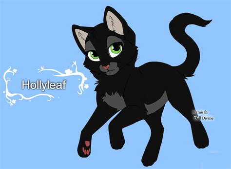 Warrior Cats Character Design Templates Hollyleaf By