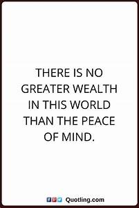 Peace Of Mind Quotes