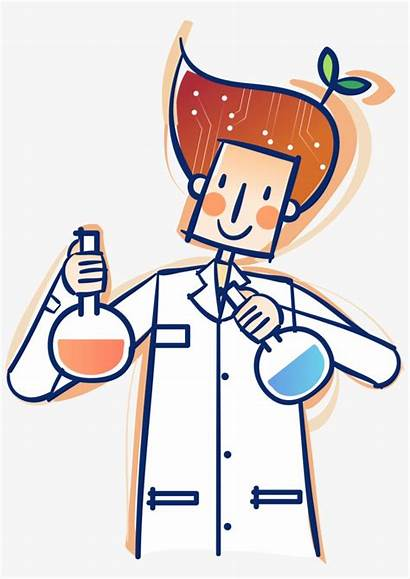 Science Cartoon Research Lab Laboratory Svg Technology