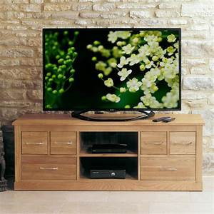 Mobel Oak Widescreen TV Cabinet COR09B Best Price