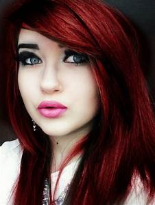 Intense Auburn Red Hair Color In 2016 Amazing Photo