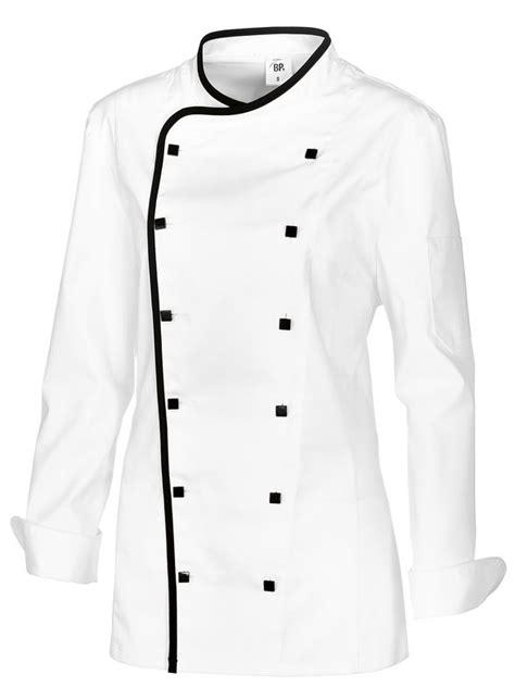 veste cuisine femme avec liser 233 comfortech stretch peut bouillir