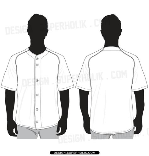 baseball jersey template fashion design templates vector illustrations and clip artsbaseball jersey template fashion